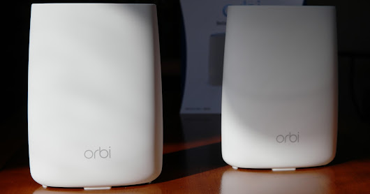 Review: Installing Orbi Home WiFi System by NETGEAR