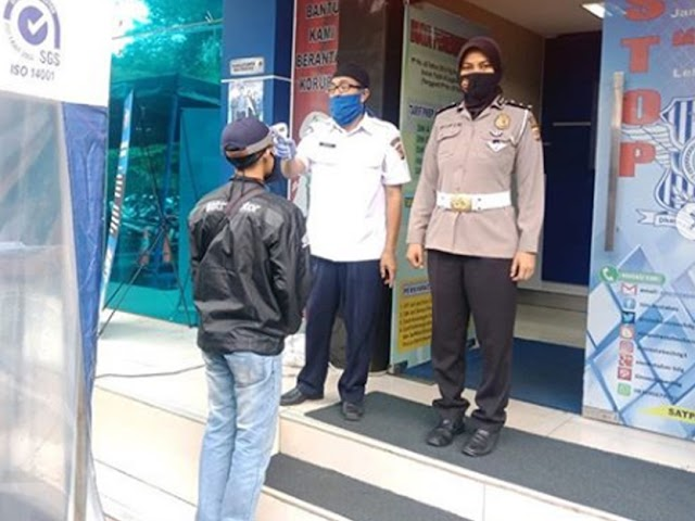 Prosedur Perpanjangan SIM di Polrestabes Bandung Selama Masa Pandemi Covid-19