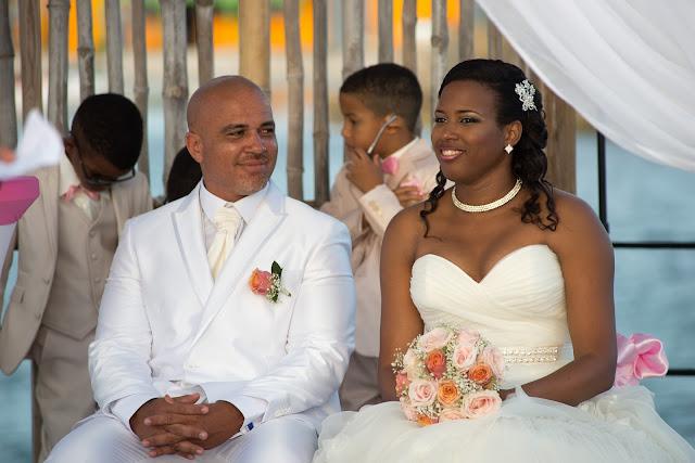 mariage Guadeloupe la créole beach le Gosier cérémonie