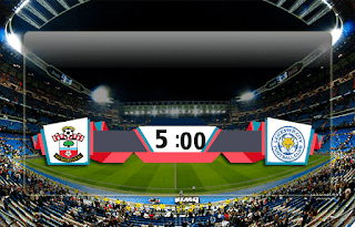 اهداف مباراة ليستر سيتي وساوثهامبتون (1-2) الدوري الانجليزي