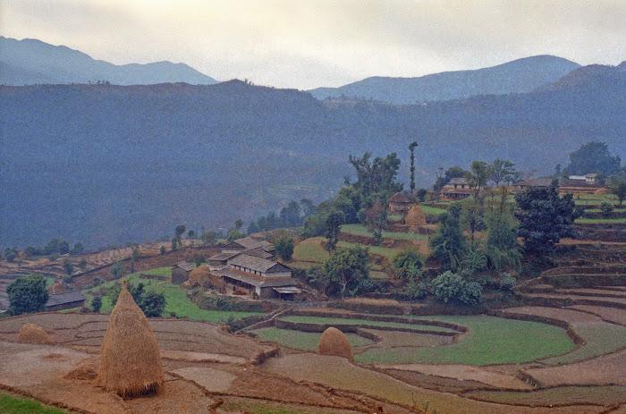 Népal, Pokhara, Annapurna, Chandrung, © L. Gigout, 1990
