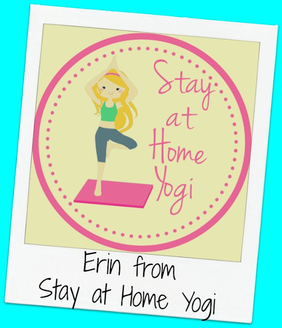 FridayFrivolity host Erin from Stay at Home Yogi