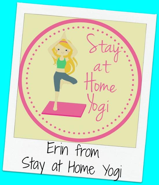 FridayFrivolity host Erin from Stay at Home Yogi