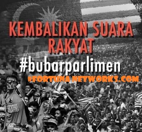 KEMBALIKAN SUARA RAKYAT #bubarparlimen