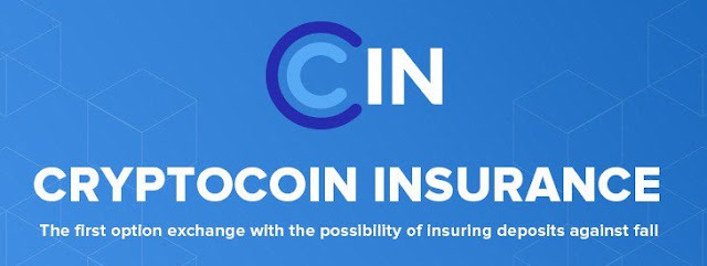 CRYPTOCOIN INSURANCE - Exchanges the option of first use of insuring deposits against the fall of the market