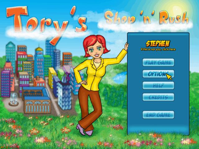 Screenshot Tory's Shop'n'Rush Full Version