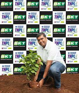 EMINENT INTERNATIONAL AND INDIAN CRICKETERS JOIN BKT'S GREEN VENTURE IN TAMIL NADU PREMIER LEAGUE