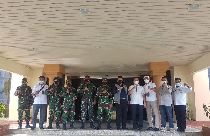 Wadanlantamal IV sambut Menpora RI di Bandara Batam