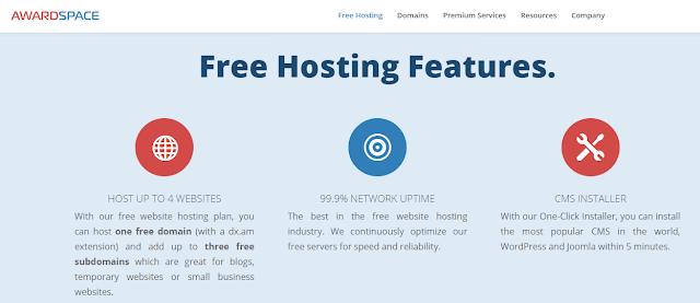 استضافة-awardspace-استضافة-مجانية-ووردبريس