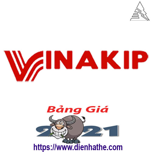 Bảng Giá Thiết Bị Điện Vinakip 2021