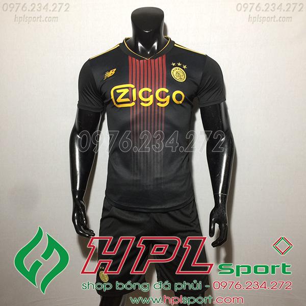 Áo CLB Ajax training màu đen  2020