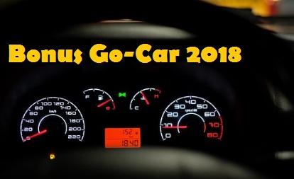 bonus go car 2018, bonus go-car 2018, penghasilan go car, bonus gocar terbaru 2018, bagi hasil gocar