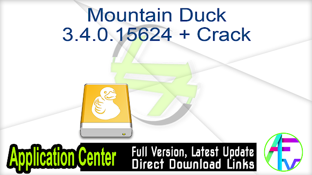 Mountain Duck 3.4.0.15624 + Crack