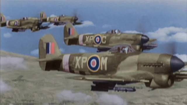 RAF fighters color photos World War II worldwartwo.filminspector.com