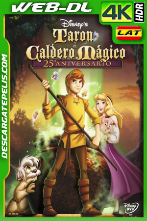 El caldero mágico (1985) 4k WEB-DL HDR Latino – Ingles