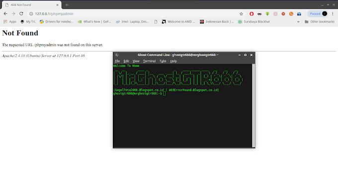 Mengatasi PHPMyadmin Error 404 Not Found dengan Webserver Apache di GNU/Linux