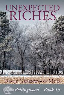 https://www.amazon.com/Unexpected-Riches-Bellingwood-Book-13-ebook/dp/B01DELYEDK/ref=sr_1_1?ie=UTF8&qid=1464464202&sr=8-1&keywords=unexpected+riches+diane+greenwood+muir