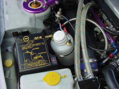 Water methanol kit on an R33 GT-R