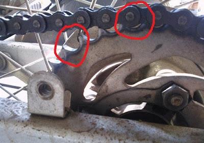 Ciri-ciri Rantai Motor Yang Sudah Harus Diganti
