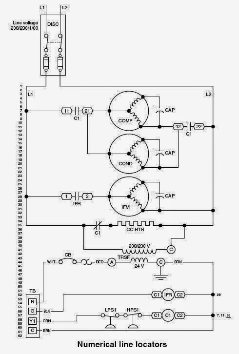 Nordyne Model E2eb 015ha Wiring Schematic Diagram