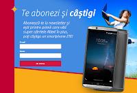 Castiga un smartphone ZTE