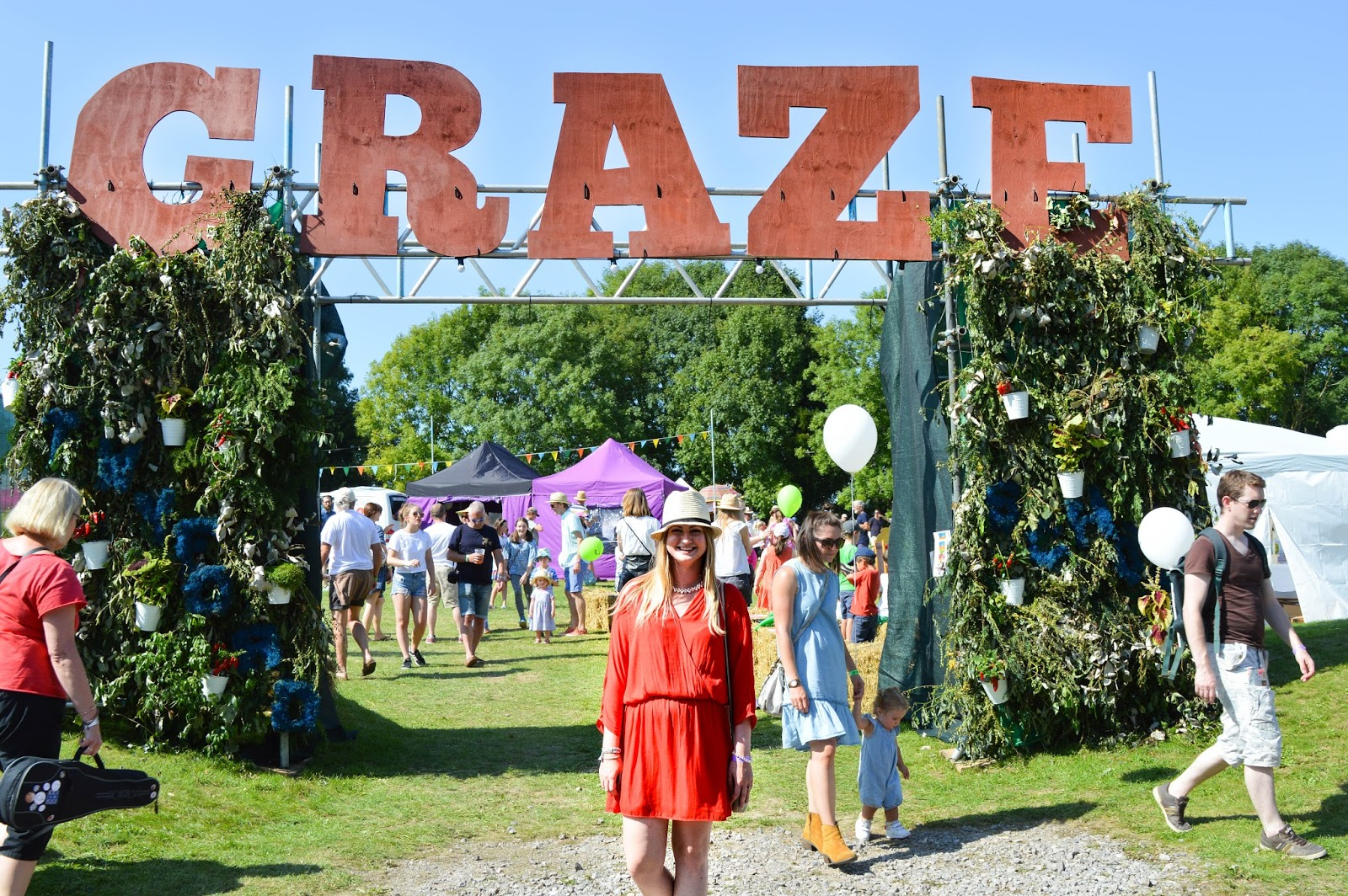 Graze Festival in Twyford, Hampshire blogger, UK lifestyle blog, Hampshire food festivals
