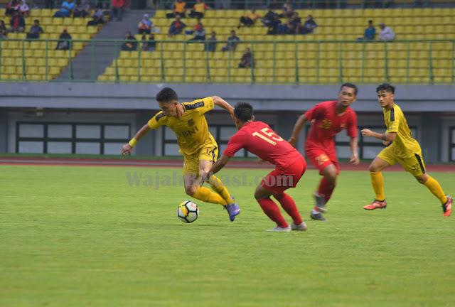Timnas U-22 Ditahan Imbang Bhayangkara FC