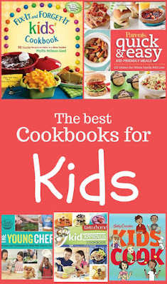The best cookbooks for kids - a collection of tried and true cookbooks all with kid-friendly recipes. This is the perfect addition to any parent's cookbook collection if they desire to spend time with their children in the kitchen.