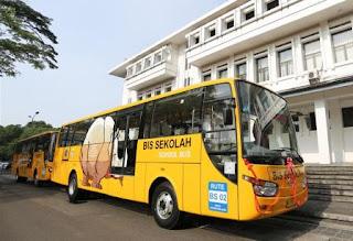 Jadwal & Rute Bus Sekolah Gratis Kota Bandung