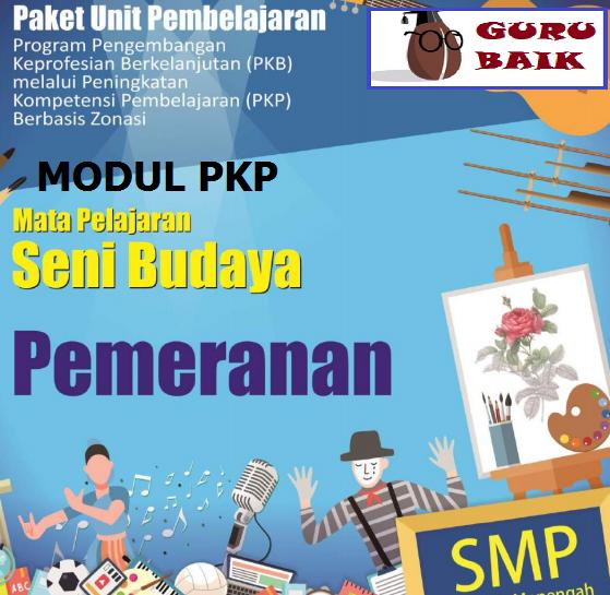Download Buku Modul PKP Seni Budaya SMP Edisi 2019/2020 Format Pdf