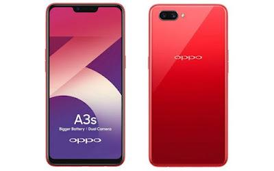 Spesifikasi dan Harga Oppo A3S Terbaru 2019