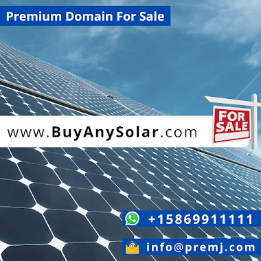 BuyAnySolar.com Premium Domain For Sale