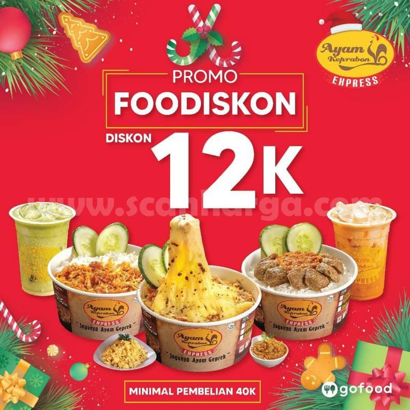 Ayam Keprabon FooDiskon Promo Diskon Rp 12.000 pakai Gopay