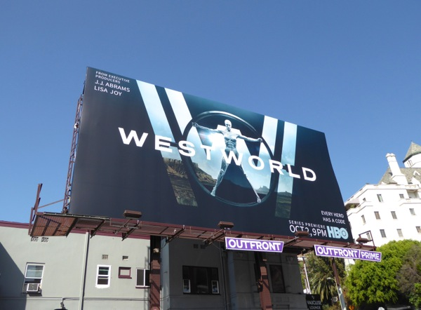 Westworld series billboard