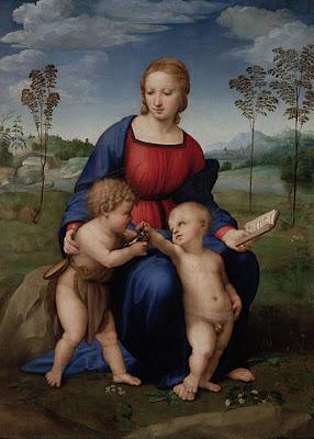 ひわの聖母by僕、ウフィツィ美術館
