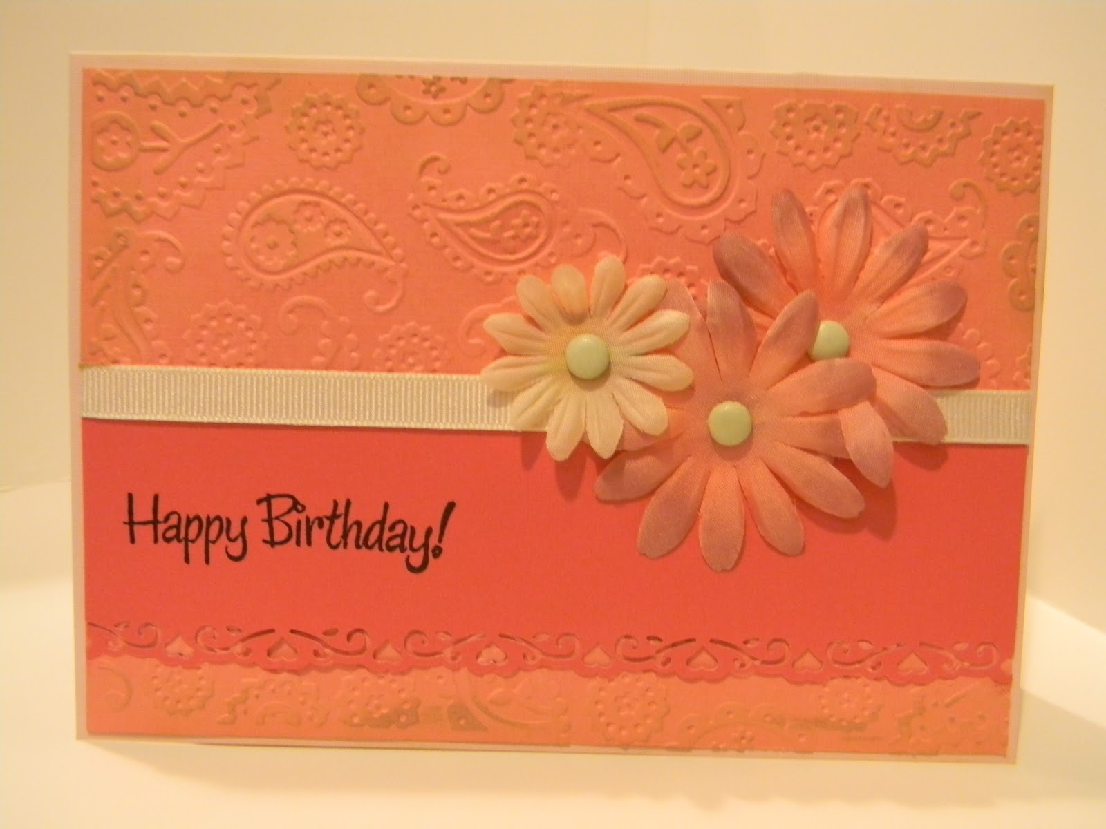 Debbie's Dash Of This And That: Nice Birthday Card For My