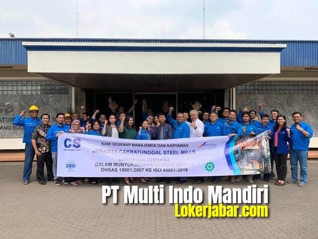 Lowongan Kerja PT Multi Indomandiri