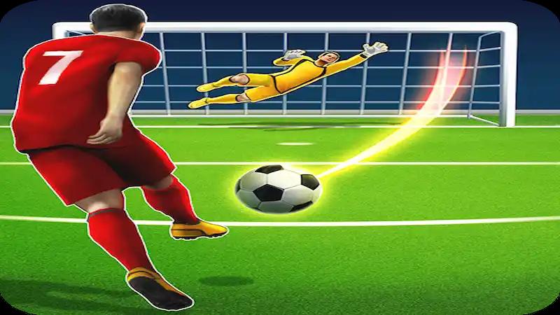 مراجعة لعبة football strike مهكرة