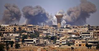 Rezim Syiah Suriah Mengintensifkan Penembakan Di Sekitar Daraa
