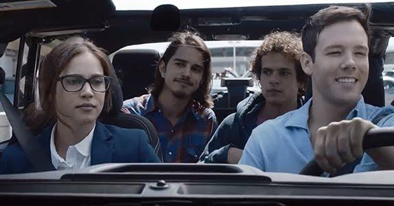 Matilda Lutz, Joseph Haro, Brando Pacitto et Taylor Frey dans Summertime (L'estate Addosso) de Gabriele Muccino (2017)