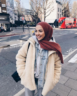 hijab fashion inspiration selebgram selebritis instagram