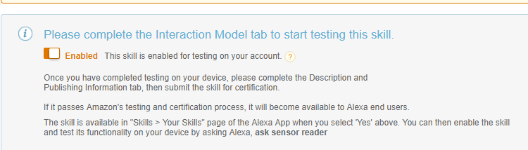 Creating Alexa Skills for IoT and Nodemcu - Part 3 Alexa and Lambda