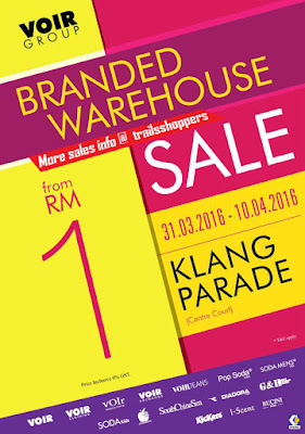 Voir Group Branded Warehouse Sale 2016
