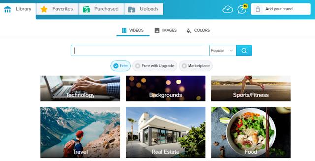 مكتبة wave-video لاختيار الصور والفيديو