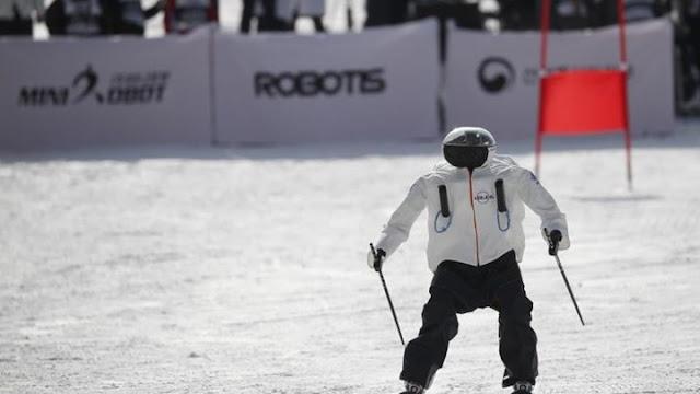 Ρομπότ ...σκιέρ κάνουν τους δικούς τους Ολυμπιακούς αγώνες στη Νότια Κορέα