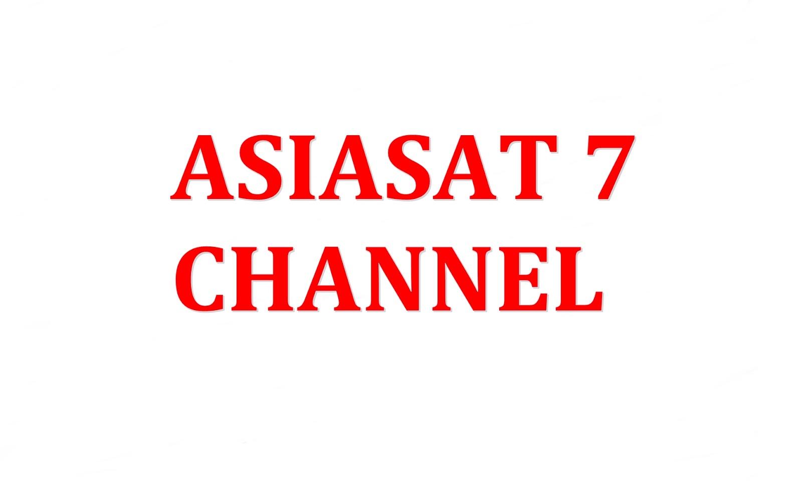 Channel List Satelit asiasat 7 / 3s