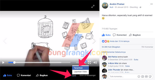 Cara menambahkan Video Facebook di Postingan Blog AMP