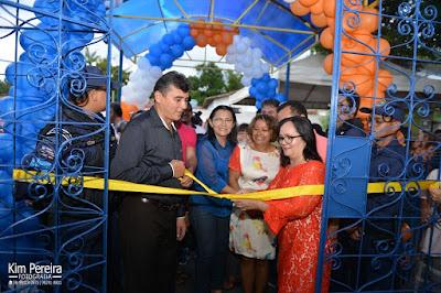 Educação: Prefeita Belezinha Inaugura a Nova Escola Manoel José de Santana