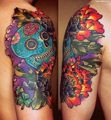 Tatuajes para hombres en el hombro