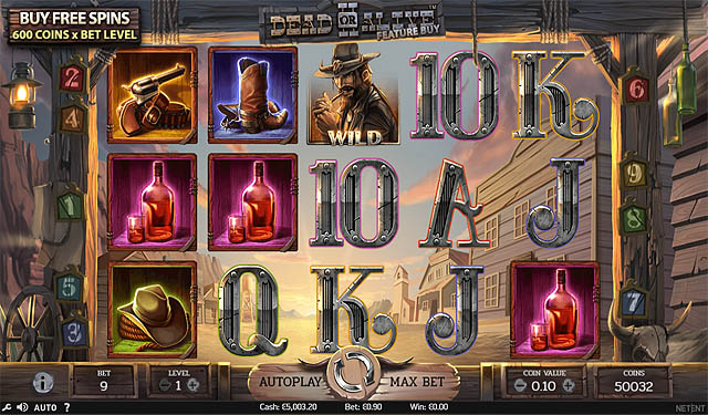 Ulasan Slot NetEnt Indonesia Dead or Alive 2 Feature Buy